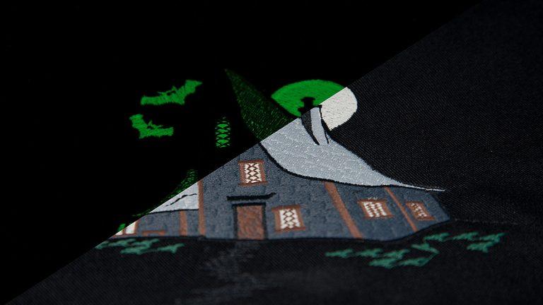 LUNA - Glow-in-the-dark embroidery thread